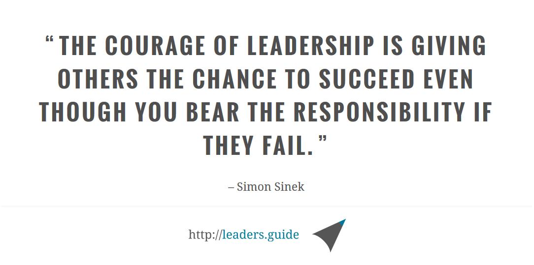 Quote Of Simon Sinek On Leadership Lead